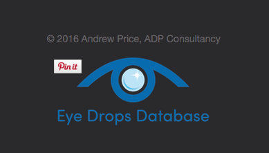 Eye Drops Database