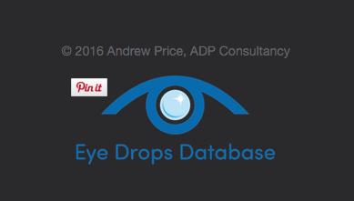 Eye Drops Database